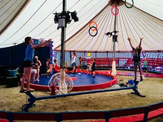 Cirkus workshop , Line vittrup.