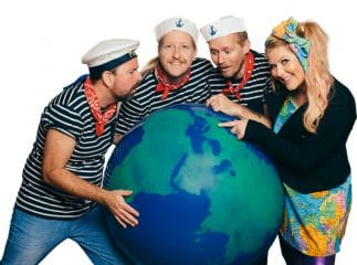 Børnebanditterne jorden rundt